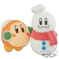 KIRBY FLUFFY PUFFY MINE~PLAY IN THE SNOW~(B:WADDLE DEE)