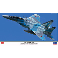 "1/72  F-15DJ EAGLE ""AGGRESSOR BLUE SCHEME"""