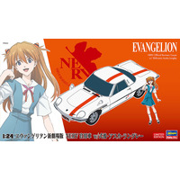 1/24  EVANGELION NERV Official Business Coupe w/ Shikinami Asuka Langley