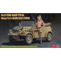 1/24  Pkw.K1 KÜBELWAGEN TYPE 82 (Balloon Tire) w/BLOND GIRL'S FIGURE