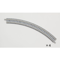 Curved PC Rail C243-45-PC (F) (Set of 4)