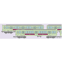 Train Col. Tanimachi-Line 6 cars set A